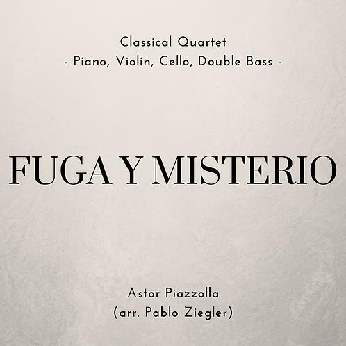 Fuga y Misterio (Piazzolla) - Classical Quartet