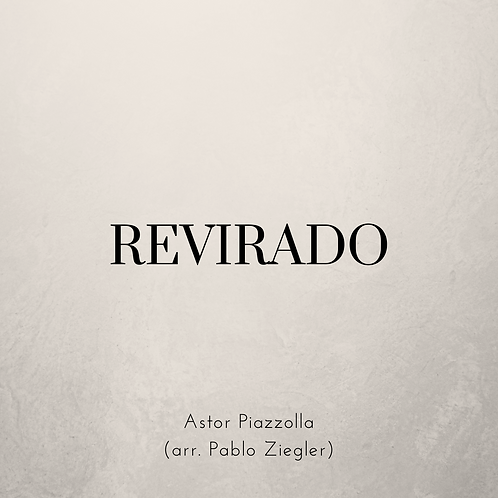 Revirado (Piazzolla) - Two Pianos