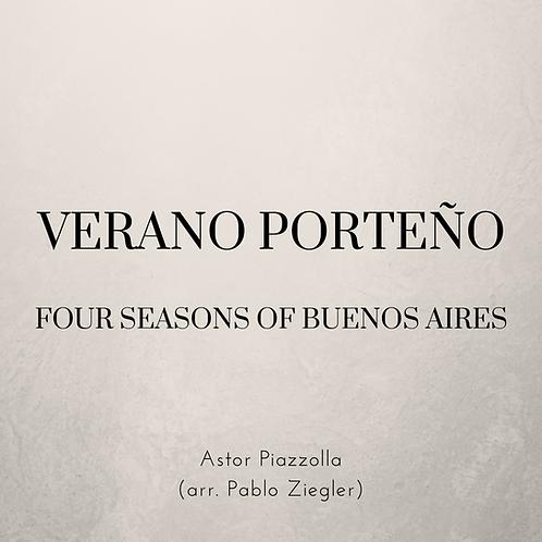 Verano Porteño / Summer of Buenos Aires (Piazzolla) - Two Pianos