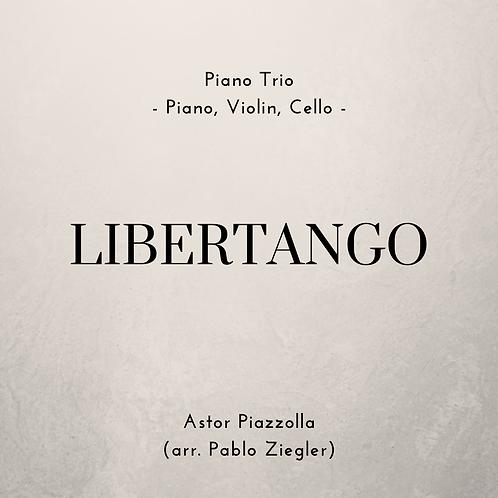 Libertango (Piazzolla) - Piano Trio (Piano, Violin, Cello)