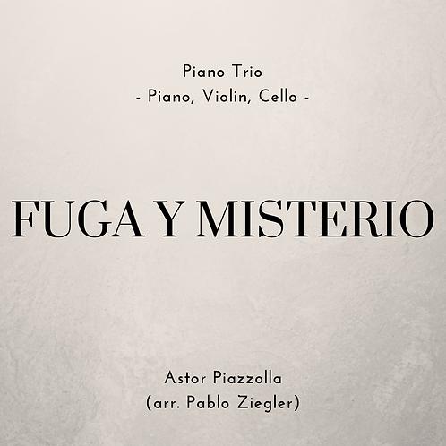 Fuga y Misterio (Piazzolla) - Piano Trio (Piano, Violin, Cello)