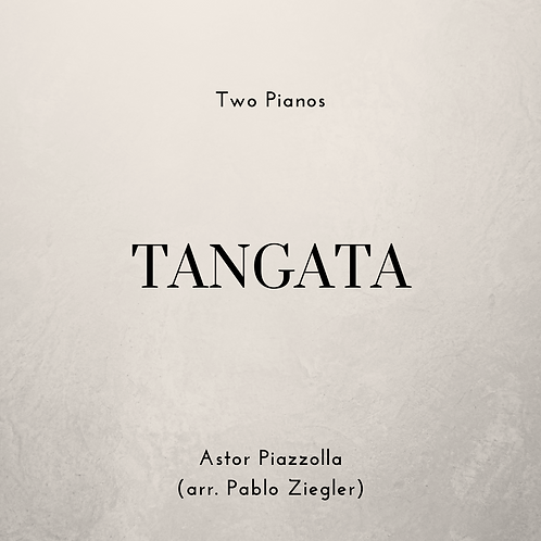 Tangata (Piazzolla) - Two Pianos
