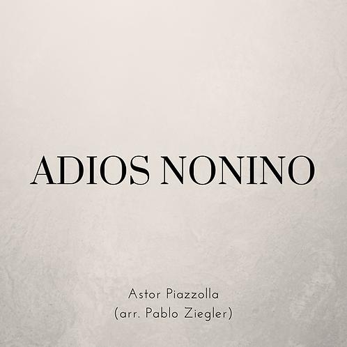 Adios Nonino (Piazzolla) - Two Pianos