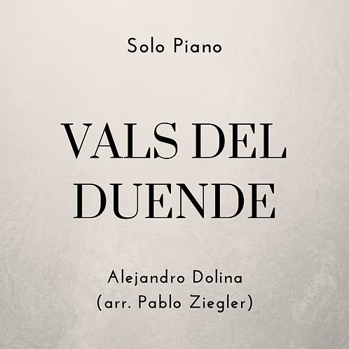 Vals del Duende (Dolina) - Solo Piano