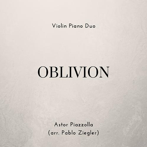 Oblivion (Piazzolla) - Violin Piano Duo