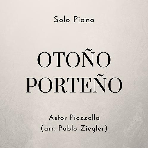 Otoño Porteño (Piazzolla) - Solo Piano