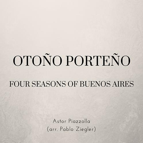 Otoño Porteño / Autumn of Buenos Aires (Piazzolla) - Two Pianos