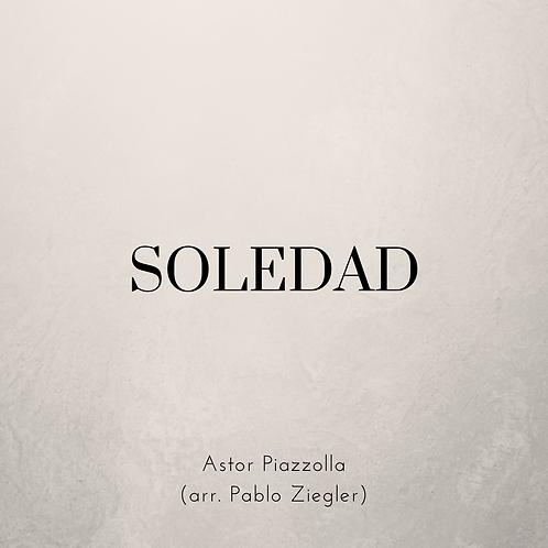 Soledad (Piazzolla) - Two Pianos