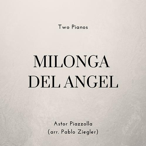Milonga del Angel (Piazzolla) - Two Pianos