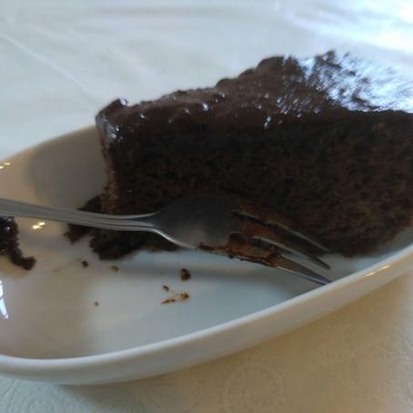 עוגת שוקולד בריאה טעימה ונפלאה ללא גלוטן