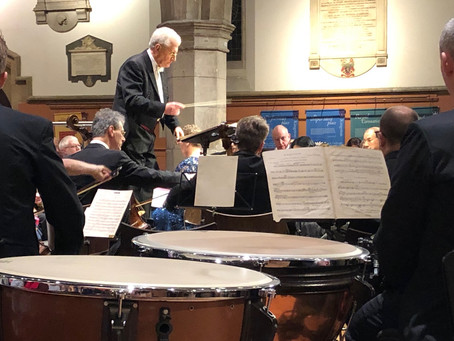 Summer concert brings together John Bate, his former student and one of the UK's leading organis