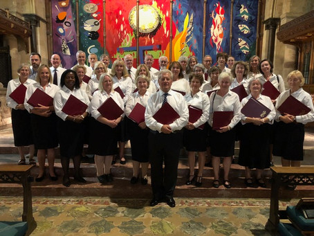 Can you enjoy going on a Cathedral residency and singing church music when you're not religious?