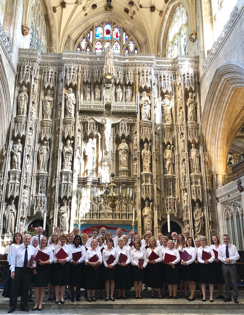 Choir at Winchester Cathedral