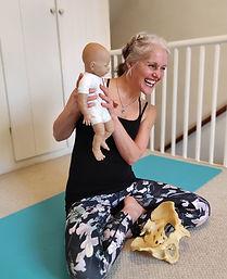 Pregnancy yoga with Alison Fiddler
