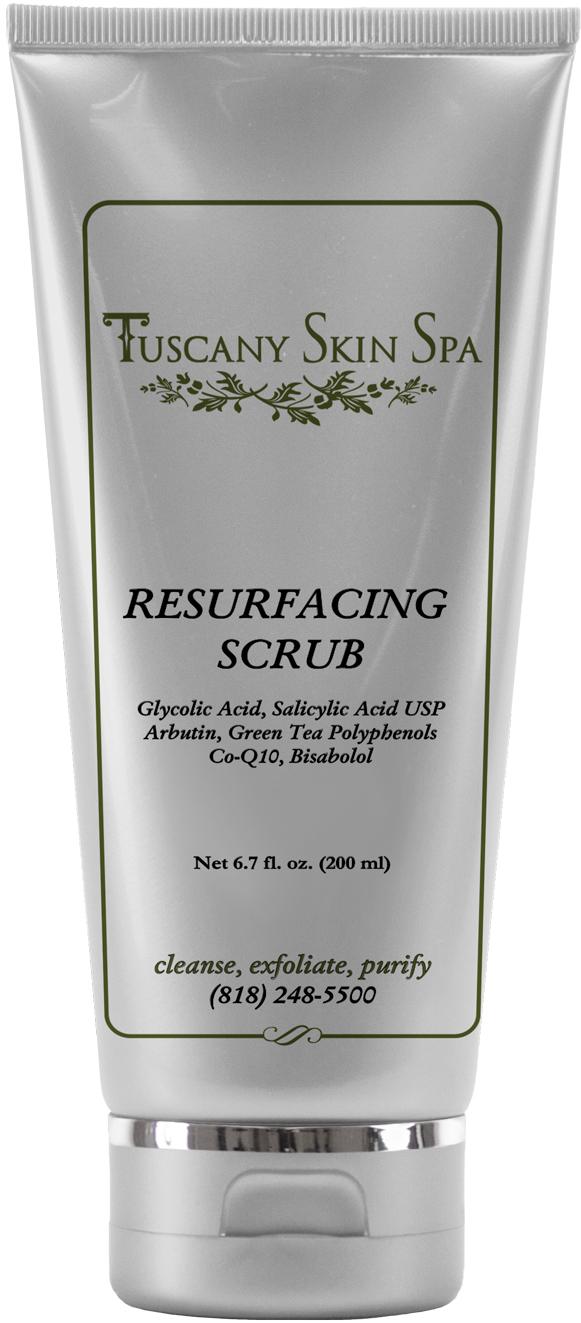 Resurfacing scrub