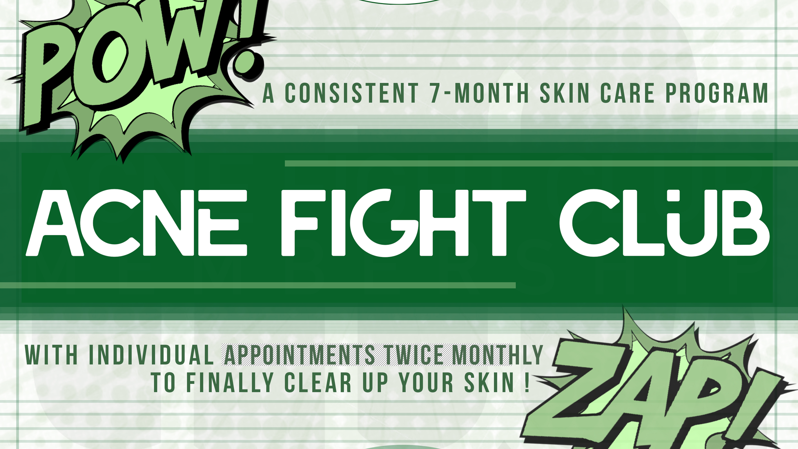 Clearer skin with Acne Fight Club