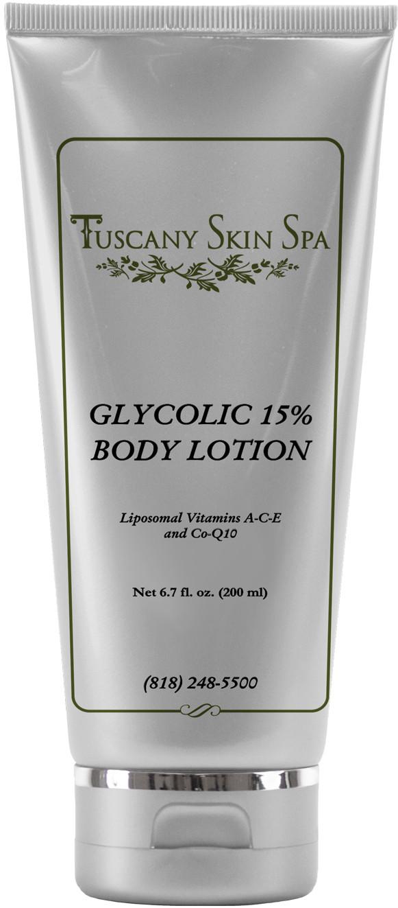 TuscanySkinSpa Glycolic 15% Body Lotion