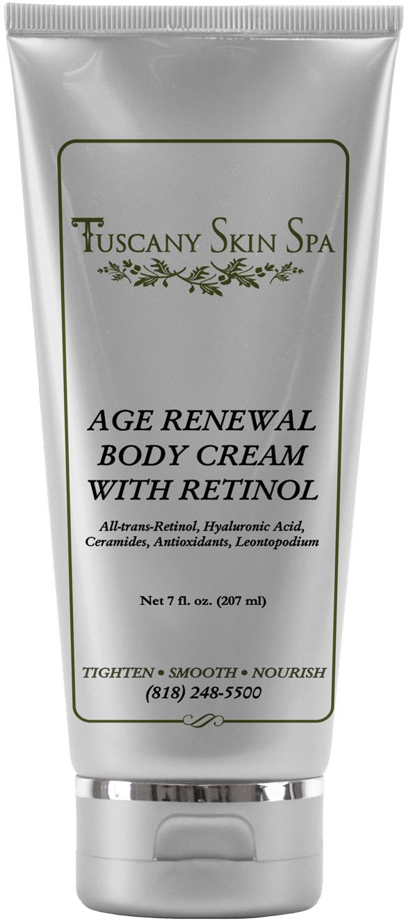 Age Renewal body cream with retinol