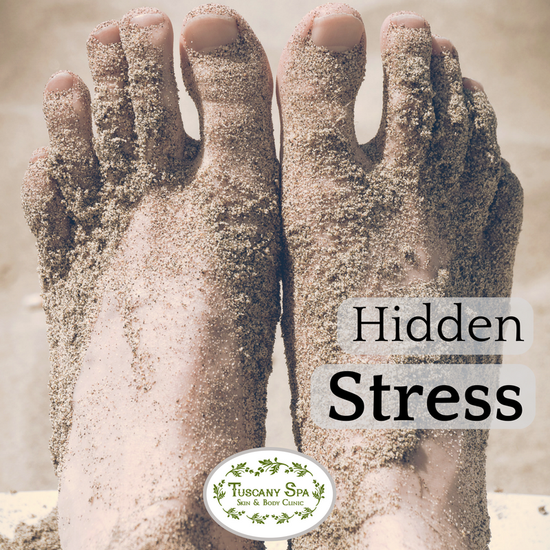 Massage for Stressed feet
