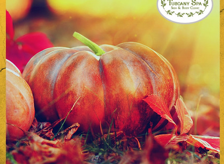 Pumpkin Latte... Facials for everyone