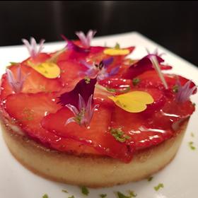 tarte fraise bio