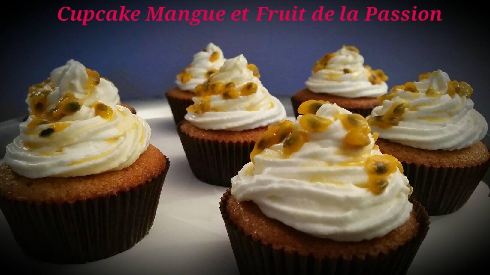 cupcake mangue passion