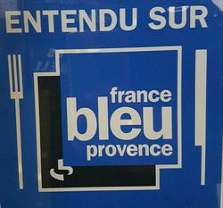 France Bleu provence le 23 septembre 2016