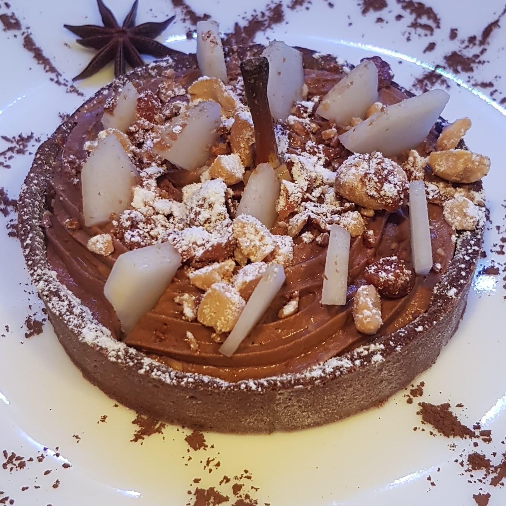 Tarte aux poires chocolat (1)