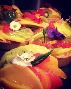 Tartelette de fruit frais de saison