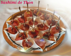 sashimi de thon