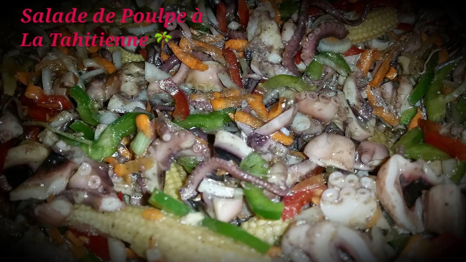 salade de poulpe a la tahitienne