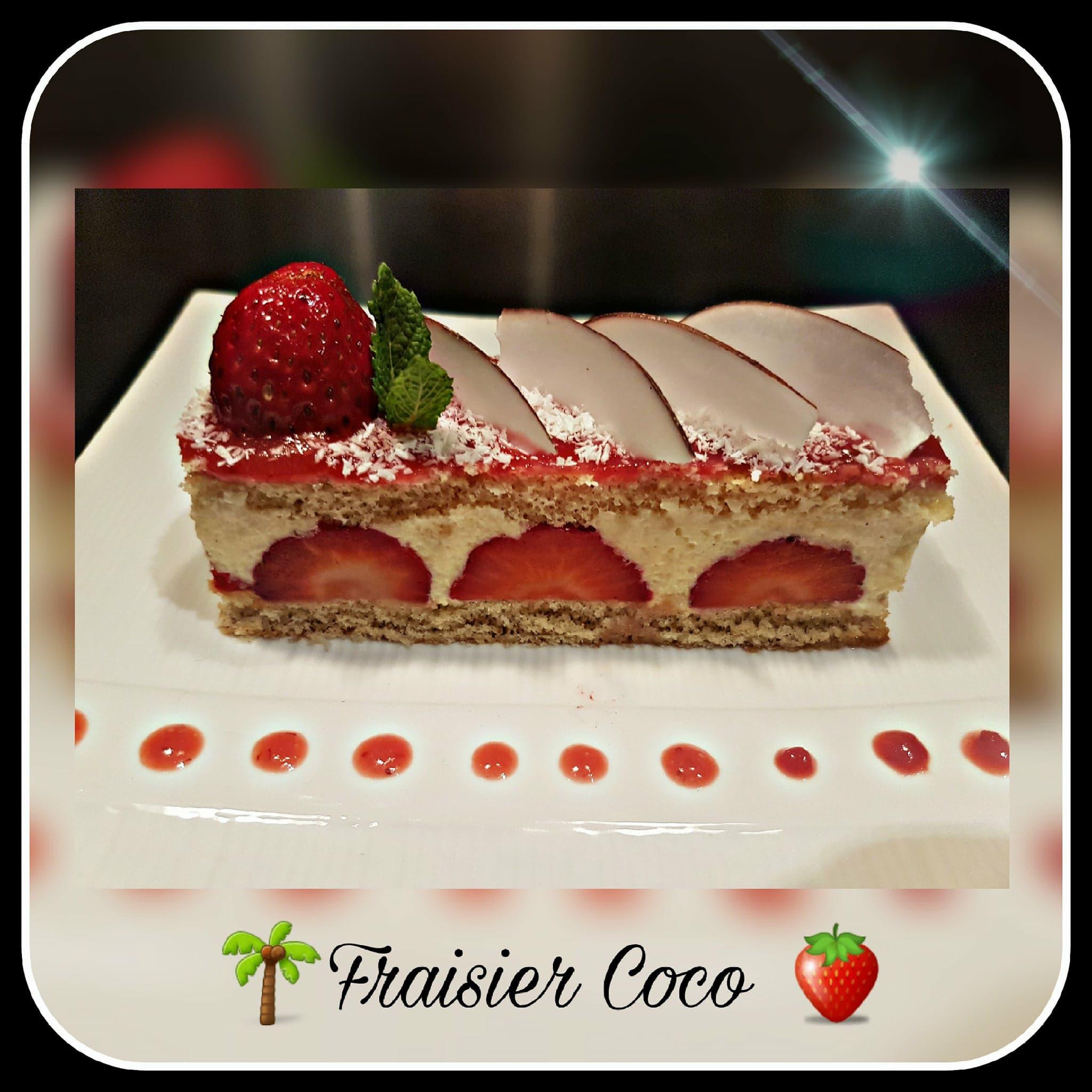 fraisier coco