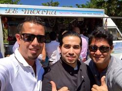 Avec Teiva et John