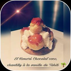 St_Honoré_chocolat_coco_chantilly_maison_à_la_vanille_de_Tahiti