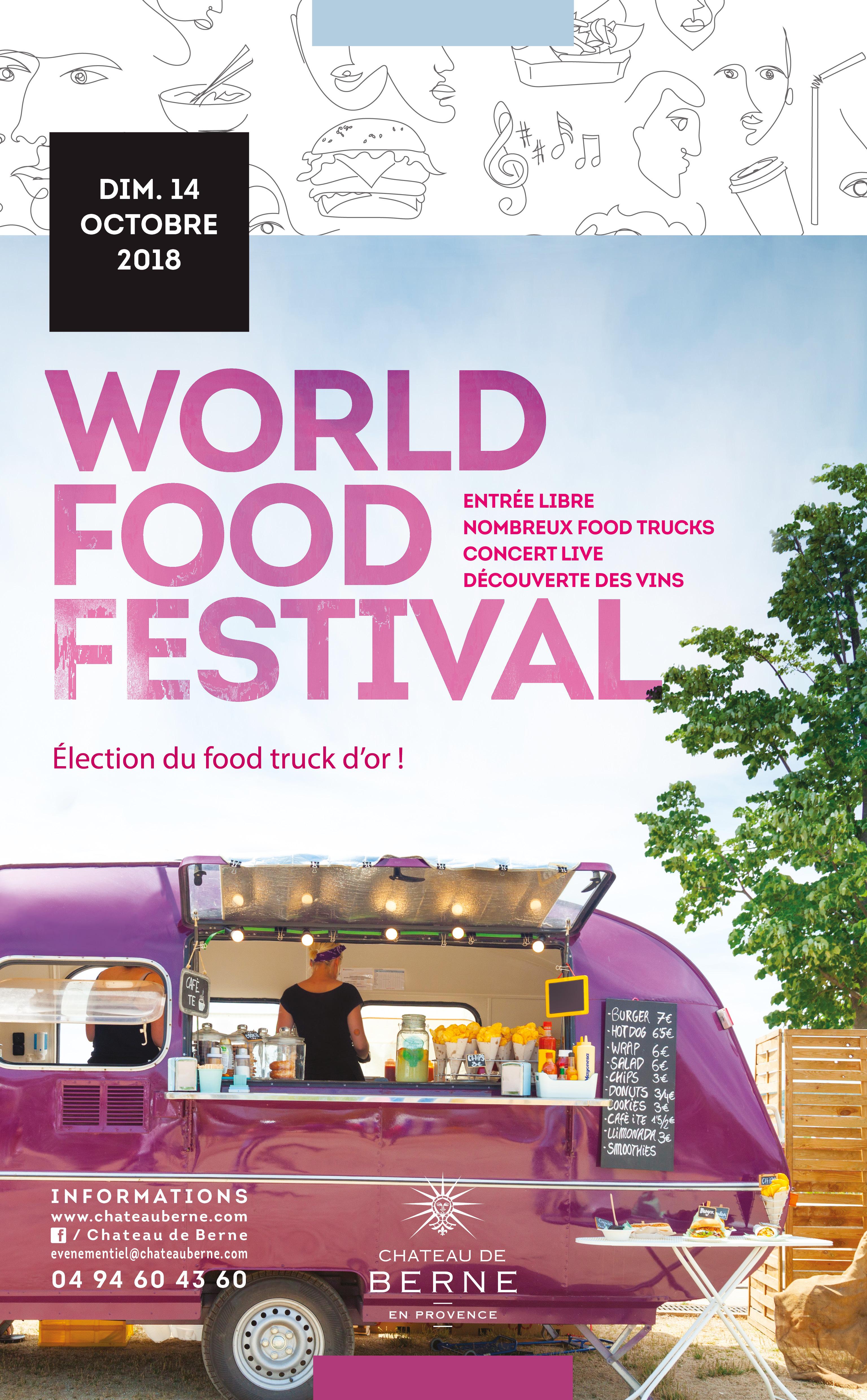 château de berne festival foodtruck