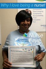 I am a nurse because I care deeply for the life of people. I am compassionate about my work and like to see positive results although there are some negative occurs.