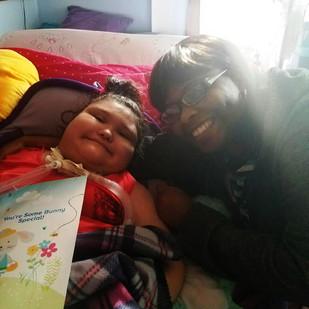 Caregiver Nickiya and Patient Kathy