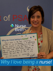 Being a nurse is the most rewarding experience of my live. Everyday is an opportunity to help someone. I love getting to know each patient/resident, and caring for them in the good times and hard times. Everyday is different and as a nurse I can offer help whatever the need may be. That is why I love being a nurse!!