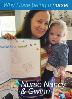 """Being a nurse is nothing like I thought it would be – just better! I love my patients, young and old. There is a sense of satisfaction to connect with a patient and make their day better, and years later they see you out and still remember you because of your care and kindness. This is my 40th year and I am not done yet"""