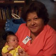 Nurse Kat and Patient Solomon