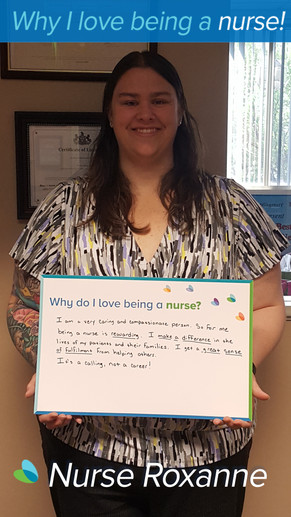 I am a very caring and compassionate person. So for me being a nurse is rewarding. I make a difference in the lives of my patients and their families. I get a great sense of fulfillment from helping others. It's a calling, not a career!