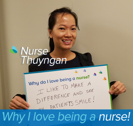I like to make a difference and see my patients smile!