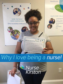 Being a nurse is my calling in life. being a nurse brings me joy that I've never felt before. I have fallen in love with the craft in its entirely. Caring for those who need me and providing a beacon of love, trust, and competence have become my mission in life. I love being in a profession where I have the opportunity to change someone's life and serve as a ray of sunshine to someone in need.