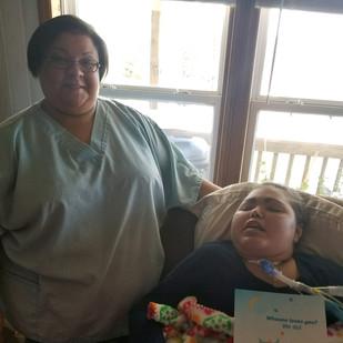 Nurse Michelle and Patient Jessica