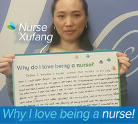 Before I became a nurse I met two nurses in my life that I would never forget! One nurse I met when I was hospitalized after an appendectomy. He came in right before the IV was running out and right before I pushed the call bell that I needed to use the bathroom. I had my call bell beside me but I never used it once. The other nurse I met was when I was in labor at Hershey Medical Center, in the labor and delivery room. This nurse was in her sixties. She was able to calm me down with her words and care when I was having pain after delivery. Her smiling face is still in my memory.Those nurses helped in my life and the feeling of being helped, the appreciation will always be with me. So when I decided to be a nurse, I told myself I wanted to be a nurse just like them, to change people's life. Help those in need of help in deed!
