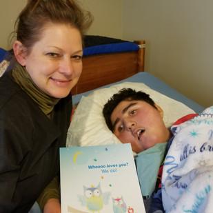 Nurse Allison and Patient Jason
