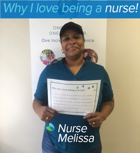 I love being a nurse because I love helping those who can't help themselves. I love being a nurse because I'm a caring and loving person and by being a nurse I get to care and love those who really need it.