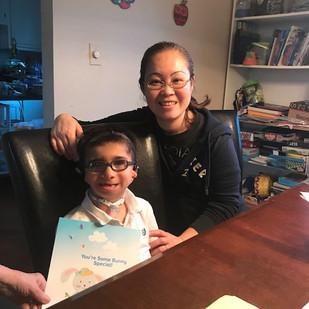 Mom Masami and Son Matthew