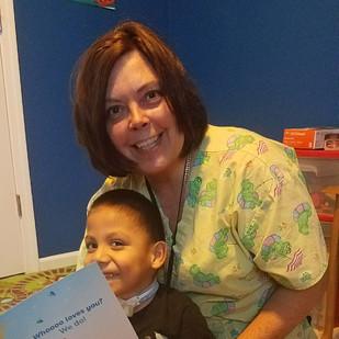 Nurse Renee and Patient Luis