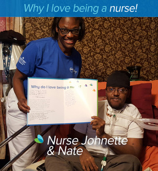 """I love being a nurse seeing the smiles on my patient's faces after helping and making them feel comfortable. I love being a nurse, because I believe it is a ministry. Assisting patients and caring for them becomes a ministry and not an occupation"""